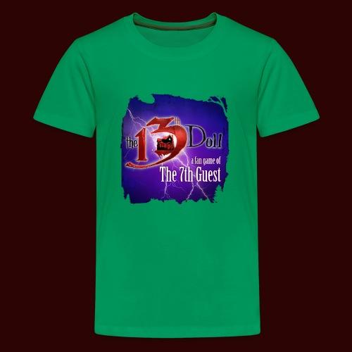 The 13th Doll Logo With Lightning - Kids' Premium T-Shirt