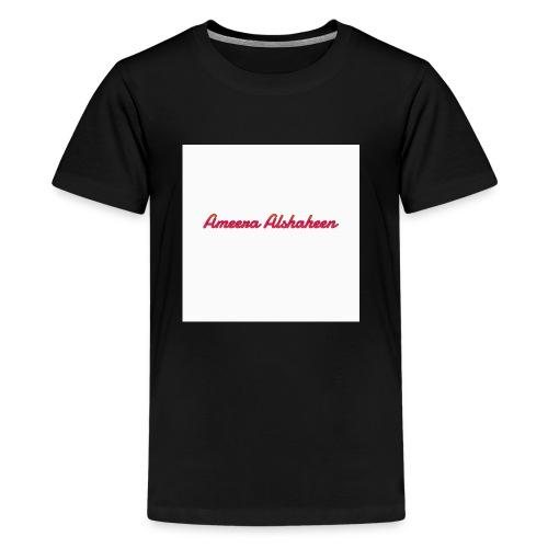 Ameera alshaheen merch - Kids' Premium T-Shirt