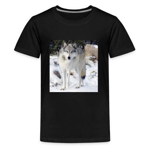 Canis lupus occidentalis - Kids' Premium T-Shirt