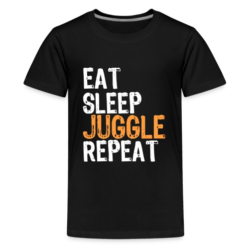 Eat Sleep JUGGLE Repeat - Kids' Premium T-Shirt