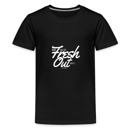 Fresh Out Beats Logo 24 - Kids' Premium T-Shirt