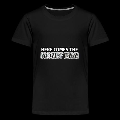 Here Comes The Money Man - Kids' Premium T-Shirt