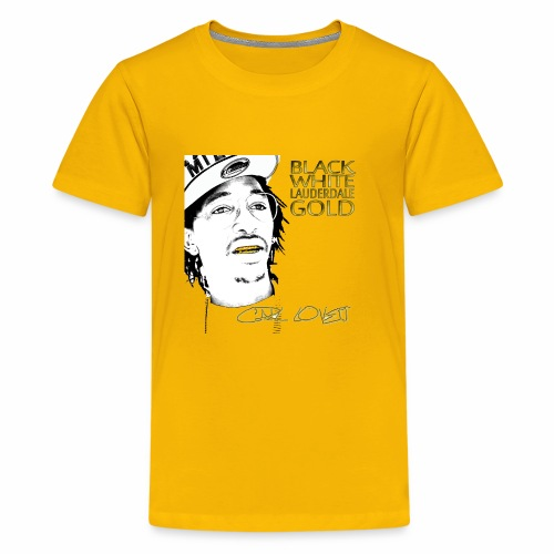 Carl Lovett Lauderdale Gold - Kids' Premium T-Shirt