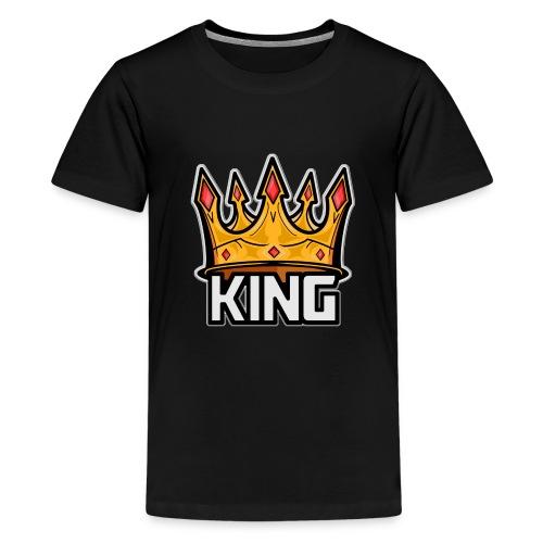 King Plays logo art - Kids' Premium T-Shirt