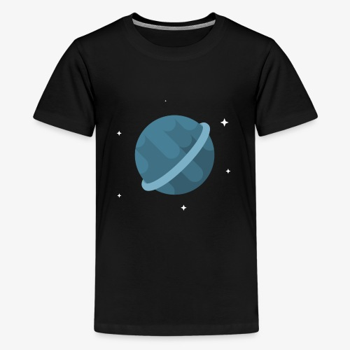 Tiny Blue Planet - Kids' Premium T-Shirt