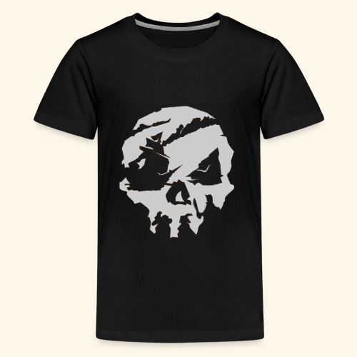 Sea of Thieves Inspired Skull - Kids' Premium T-Shirt