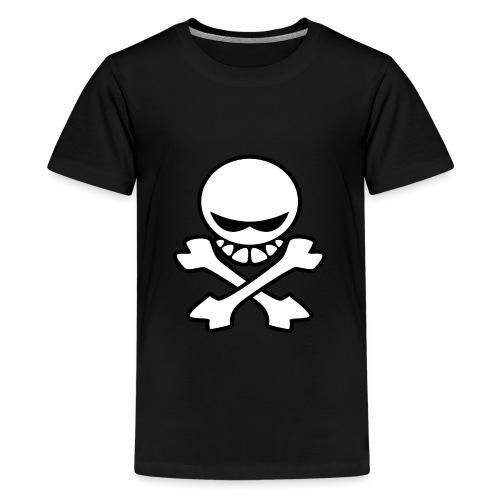 Cartoon Skull - Kids' Premium T-Shirt