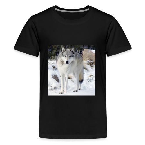 Canis lupus occidentalis - Kids' Premium T-Shirt