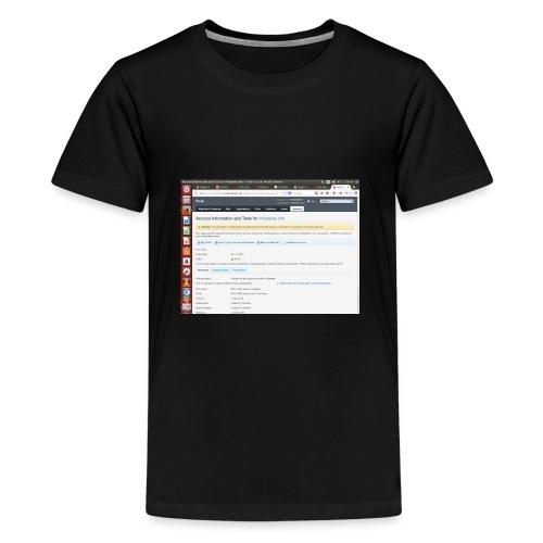 Screenshot from 2016 09 07 02 14 53 - Kids' Premium T-Shirt
