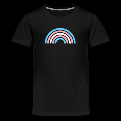 Gay Pride LGBTQ Transgender Rainbow Stripe 2018 - Kids' Premium T-Shirt