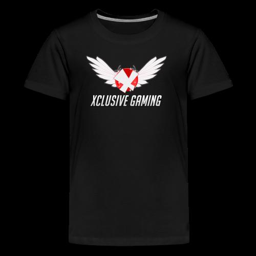 Xclusive gaming oversized logo - Kids' Premium T-Shirt