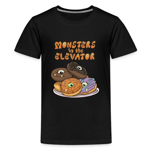 Monster Donuts Logo Mug - Kids' Premium T-Shirt