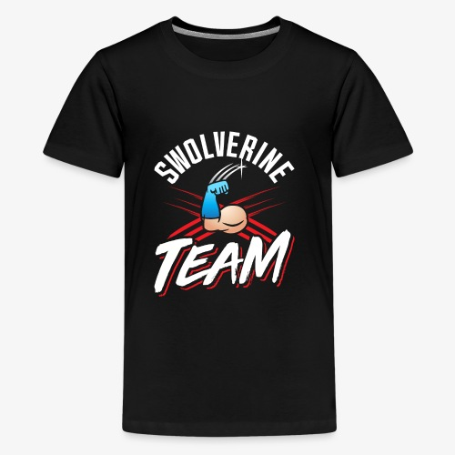 Swolverine Team - Kids' Premium T-Shirt
