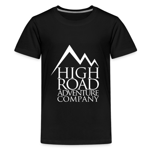 High Road Adventure Company Logo - Kids' Premium T-Shirt