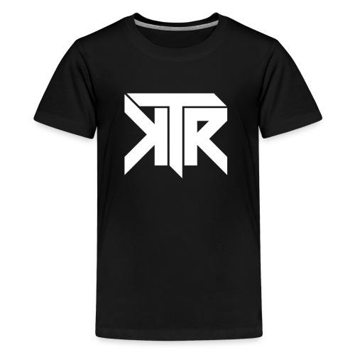 KTR Logo White - Kids' Premium T-Shirt