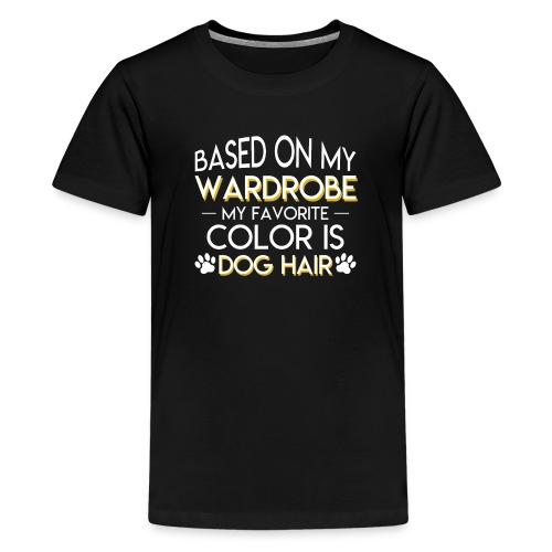Dog Owner Favorite Color Is Dog Hair - Kids' Premium T-Shirt