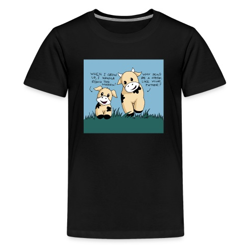 cow tales - Kids' Premium T-Shirt