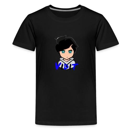 Mascot + Text - Kids' Premium T-Shirt