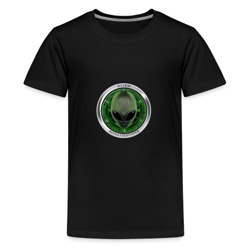 New Alien Investigations Head Logo - Kids' Premium T-Shirt