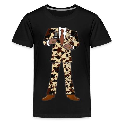 The Classic Cow Suit - Kids' Premium T-Shirt