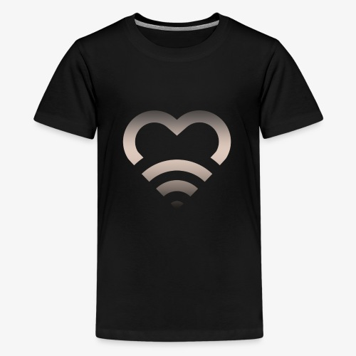 I Heart Wifi IPhone Case - Kids' Premium T-Shirt