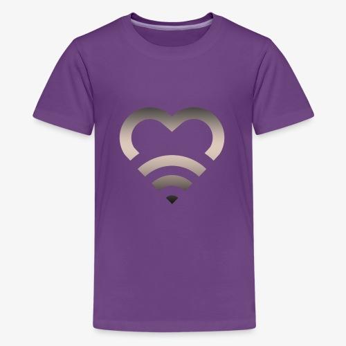 I Heart Wifi IPhone Case - Kids' Premium T-Shirt