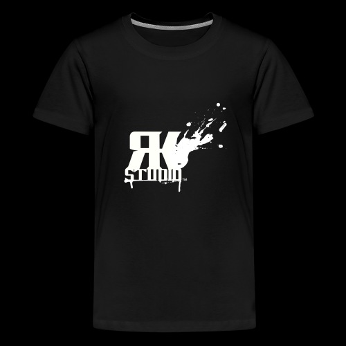 RKStudio White Logo Version - Kids' Premium T-Shirt
