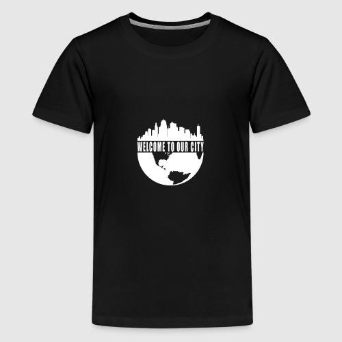 WTOC Logo White - Kids' Premium T-Shirt