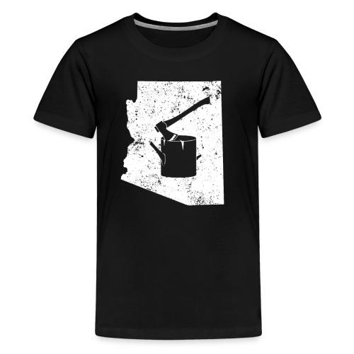 Axe T Shirt Logging Work Shirt Arizona Shirt - Kids' Premium T-Shirt