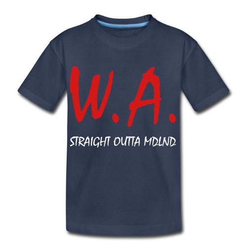 Straight Outta MDLND - Kids' Premium T-Shirt