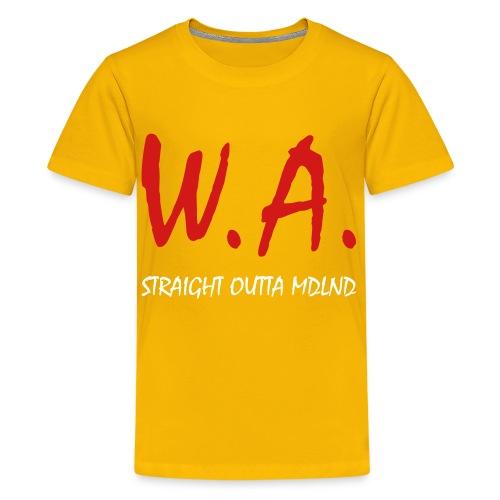 Straight Outta MDLND - Kids' Premium T-Shirt