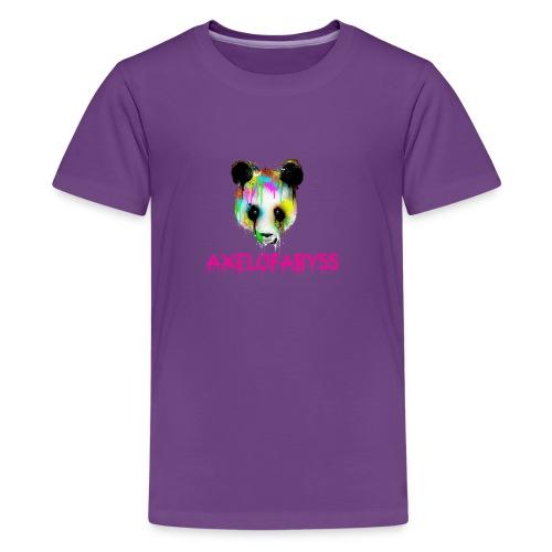 Axelofabyss panda panda paint - Kids' Premium T-Shirt