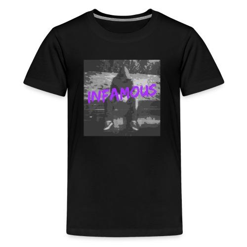 Infamous Official Logo - Kids' Premium T-Shirt