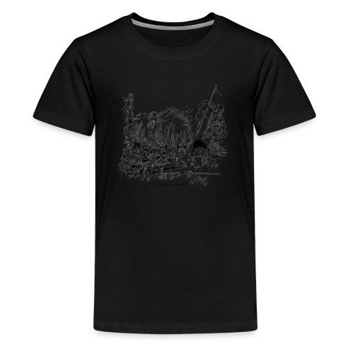 PonyFail Thelwell Cartoon - Kids' Premium T-Shirt