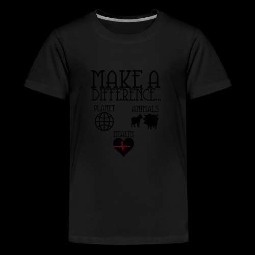 Make a difference - Kids' Premium T-Shirt