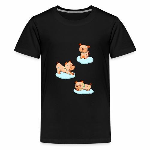 little pugs - Kids' Premium T-Shirt