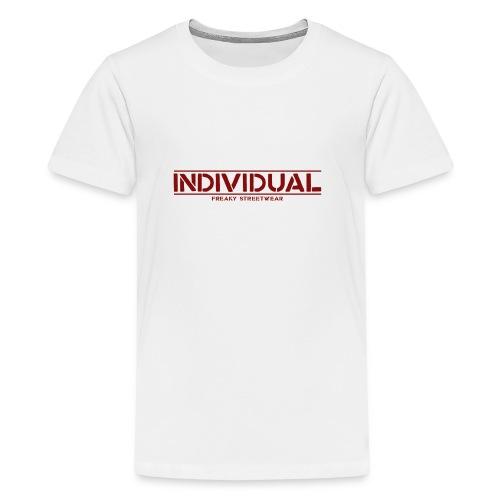 individual - white - Kids' Premium T-Shirt