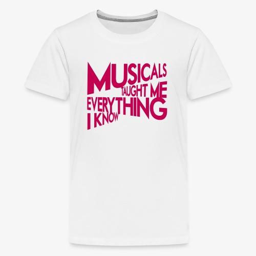 MTMEIK Pink Logo - Kids' Premium T-Shirt
