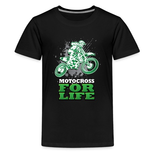 Motocross For Life - Kids' Premium T-Shirt