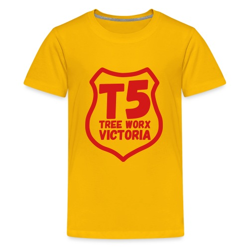 T5 tree worx shield - Kids' Premium T-Shirt