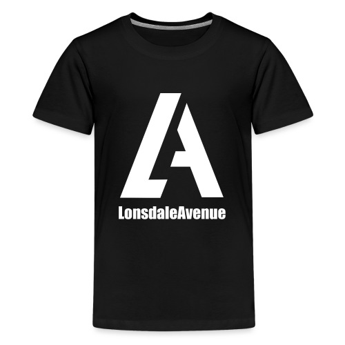 Lonsdale Avenue Logo White Text - Kids' Premium T-Shirt