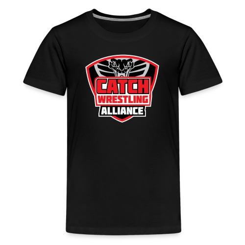 Catch Wrestling Alliance OG Logo - Kids' Premium T-Shirt