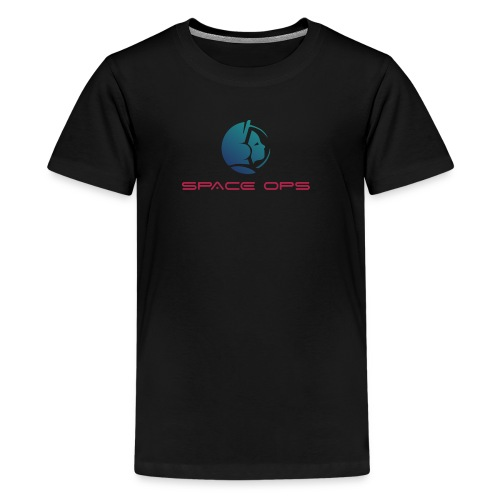 Space Ops Logo - Kids' Premium T-Shirt