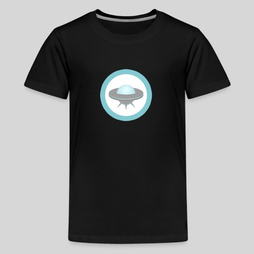 ALIENS WITH WIGS - Small UFO - Kids' Premium T-Shirt