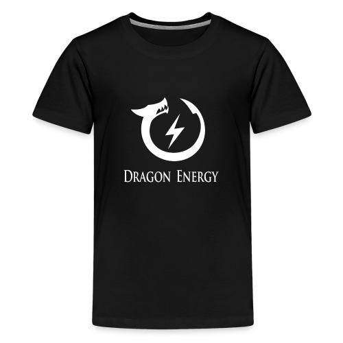 Dragon Energy (white graphic) - Kids' Premium T-Shirt