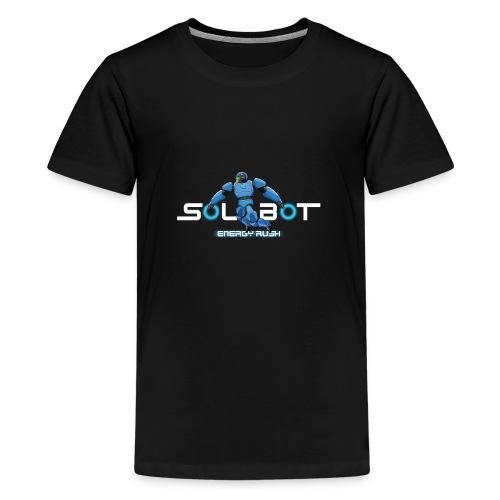 Solbot White Text - Kids' Premium T-Shirt