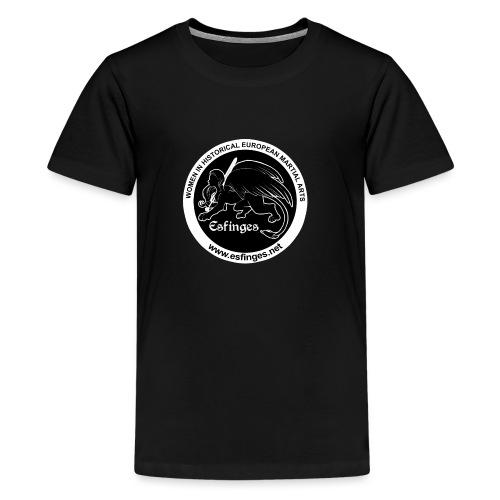 Esfinges Logo Black - Kids' Premium T-Shirt