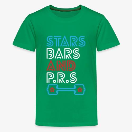 Stars, Bars And PRs - Kids' Premium T-Shirt