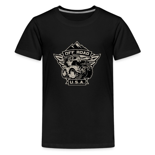 Off Road USA - Kids' Premium T-Shirt