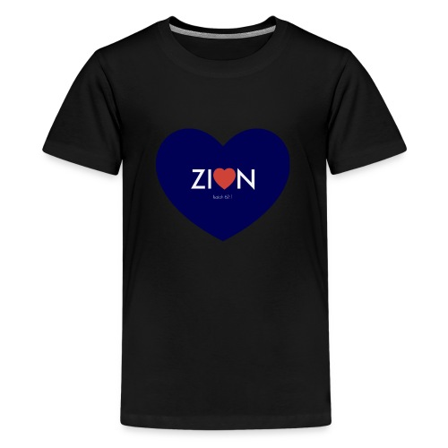 Zion in my heart/ I Won't Keep Silent - Kids' Premium T-Shirt
